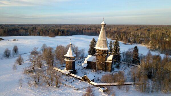 Церковь Рождества Пресвятой Богородицы в деревне Гимрека Ленинградской области