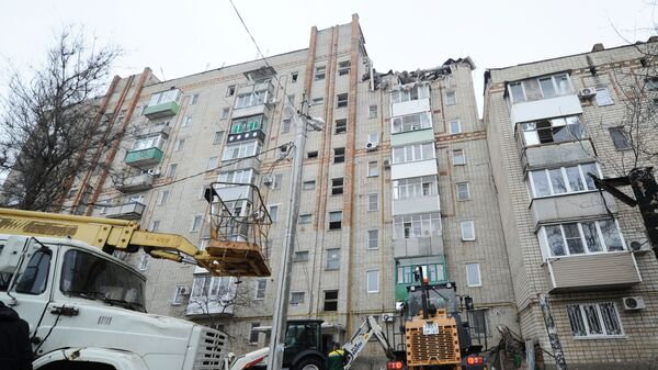 Взрыв бытового газа в жилом дома в Ростовской  области