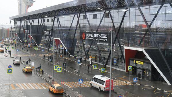 Терминал B международного аэропорта Шереметьево в Москве