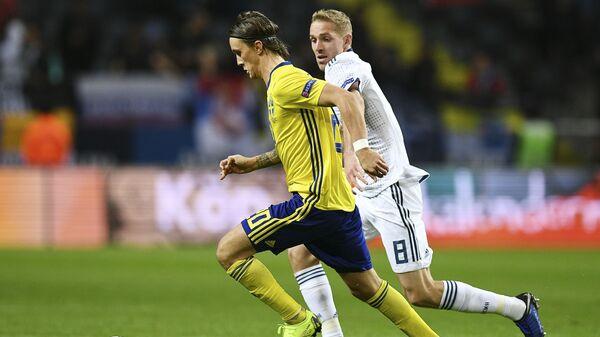 Полузащитник сборной Швеции Кристофер Ольссон