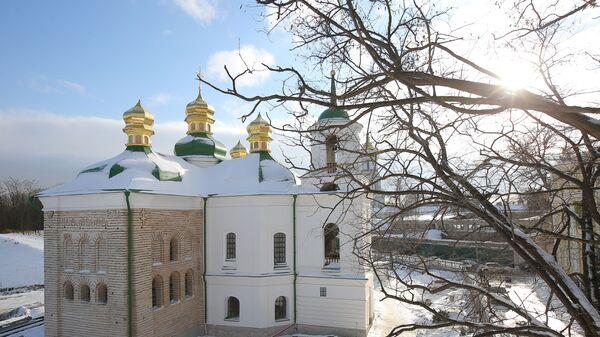 Церковь Спаса на Берестове в Киеве