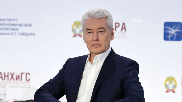 Мэр города Москвы Сергей Собянин