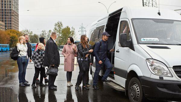 Автобусный перевозчик BlaBlaCar