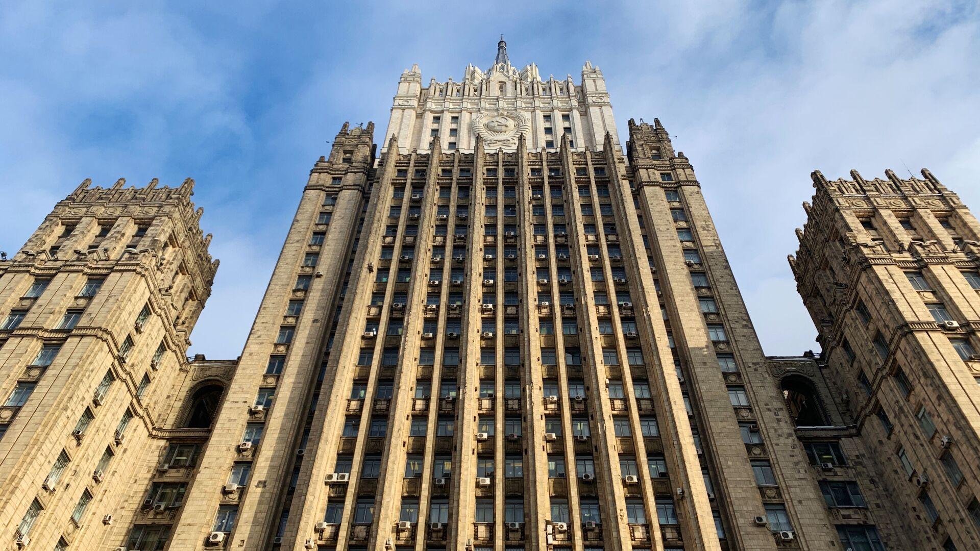 Здание министерства иностранных дел РФ - РИА Новости, 1920, 13.01.2021