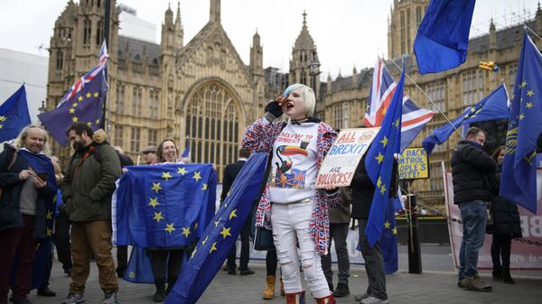 Акция против Brexit в Лондоне