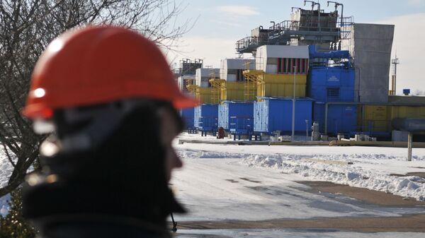 Газохранилище на Украине