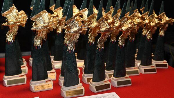 Статуэтки национальной премии в области кинематографии и телевидения за 2018 год Золотой Орел