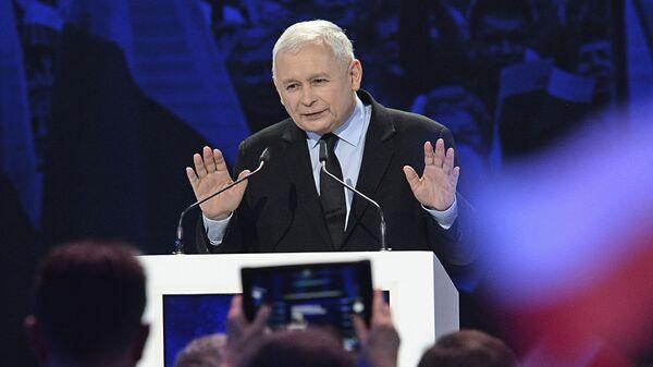 Председатель правящей консервативной партии Право и справедливость Ярослав Качиньский