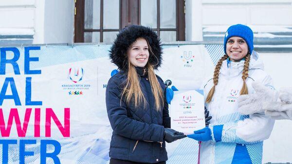 В сердце Сибири: Универсиада собирает волонтеров со всего мира