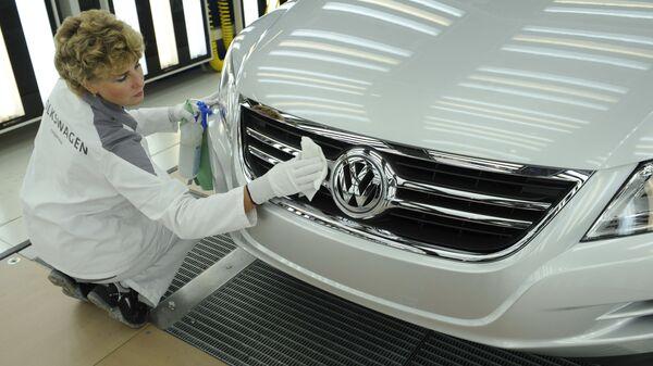 Завод Volkswagen Group Rus в Калуге