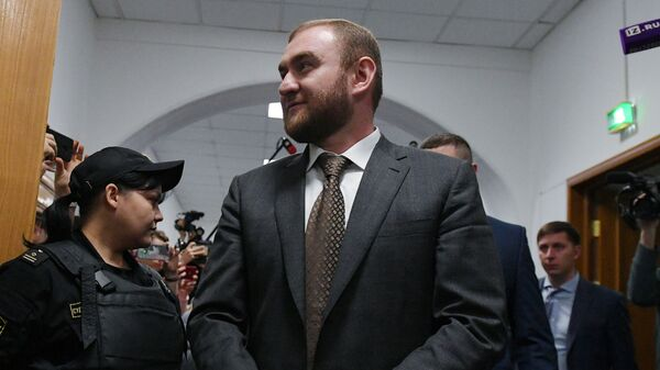 Рауф Арашуков в суде