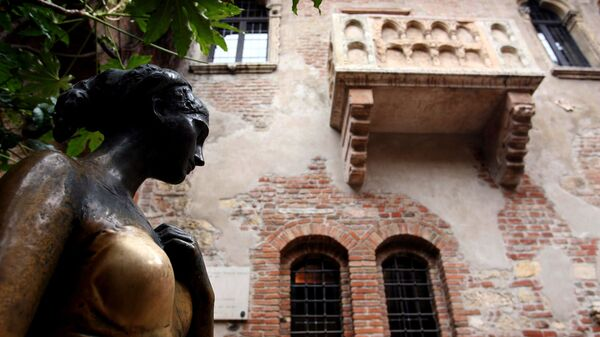 Дом Джульетты в Вероне, Италия