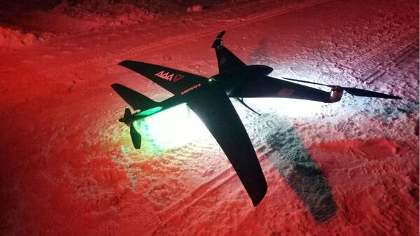 Беспилотник-конвертоплан TRIADA, разработанный российской компанией ADA Aerospace. Архивное фото