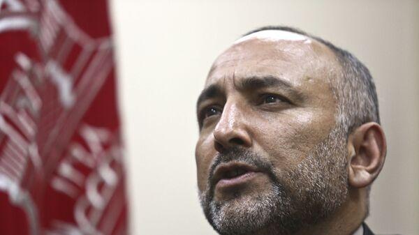 Бывший глава МИД Афганистана Мохаммад Ханиф Атмар