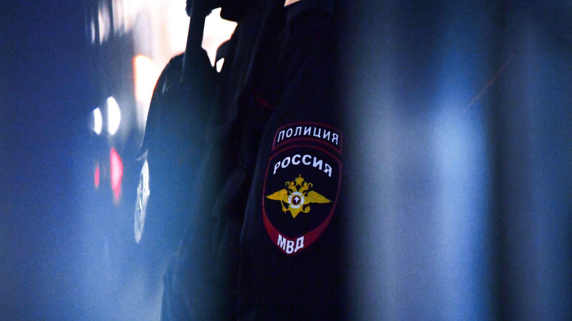 Сотрудник полиции - РИА Новости, 1920, 07.10.2021