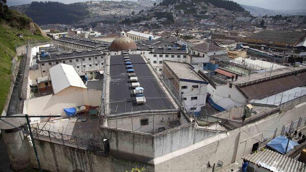 Центр временного содержания под стражей в Кито, Эквадор