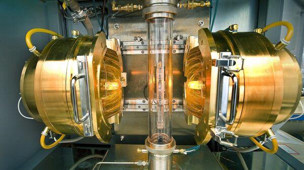 Установка, где был синтезирован сверхпроводник из лантана и водорода