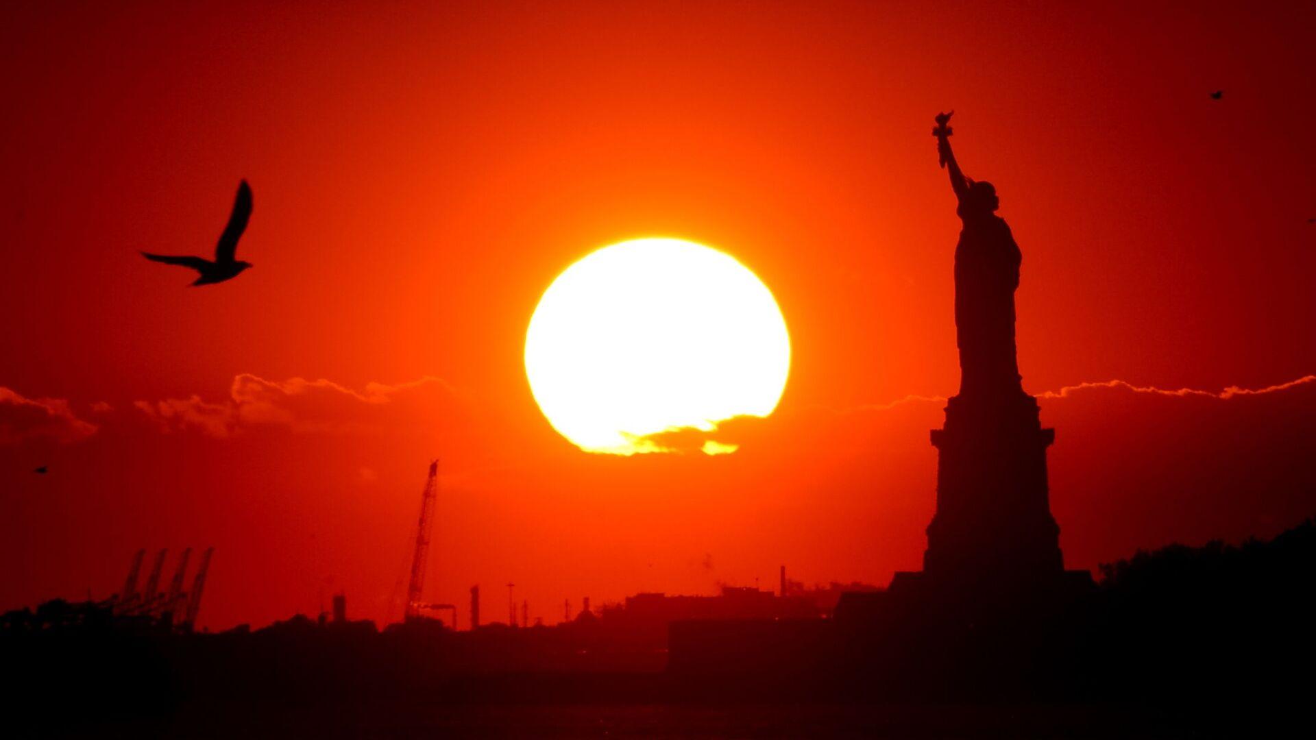 Статуя Свободы в Нью-Йорке - РИА Новости, 1920, 29.07.2021