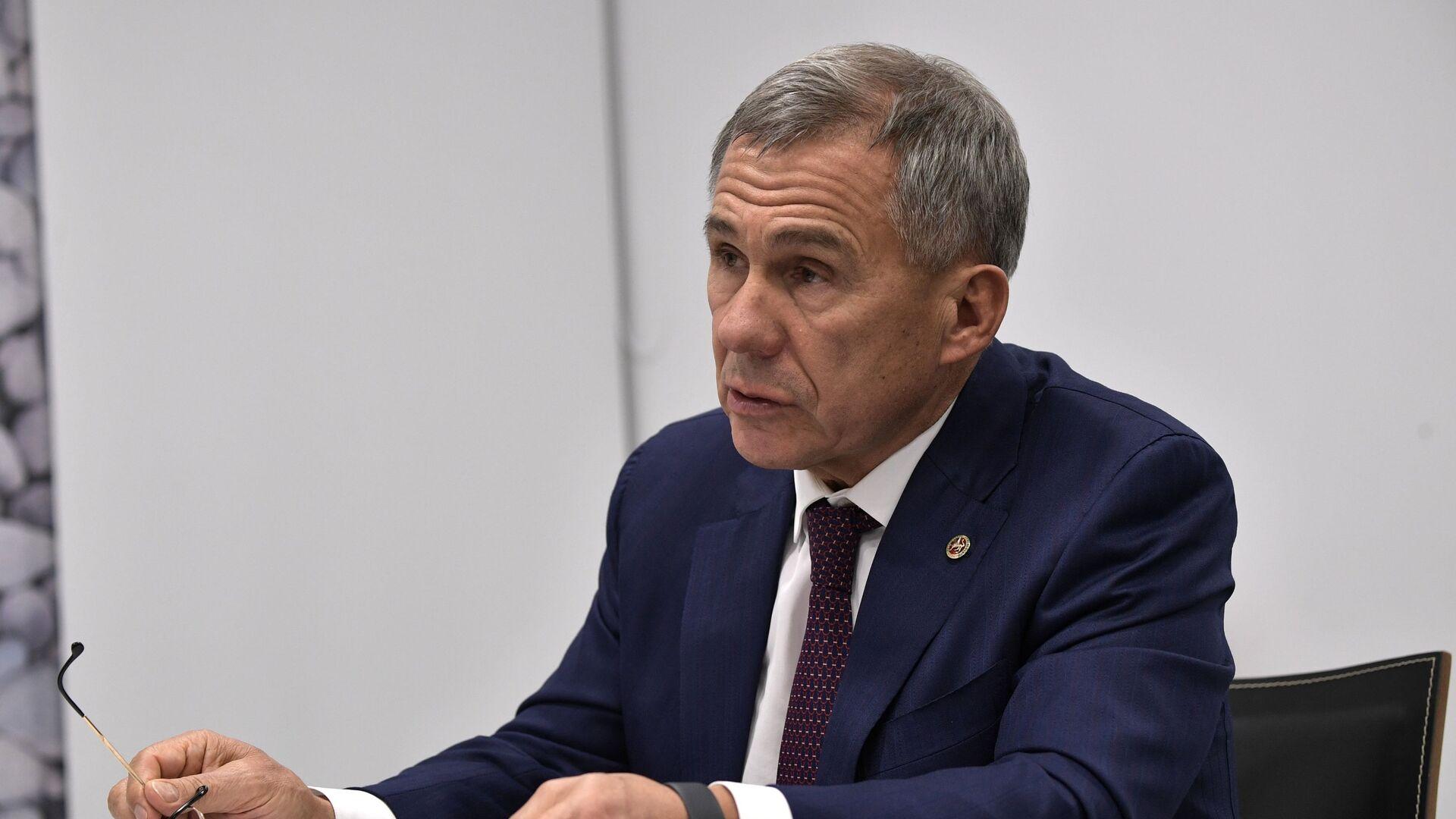 Глава Татарстана обратится к парламенту республики с посланием 8 октября