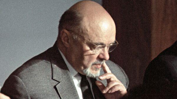 Главный конструктор атомного реактора Обнинской АЭС академик Николай Доллежаль (1899-2000)