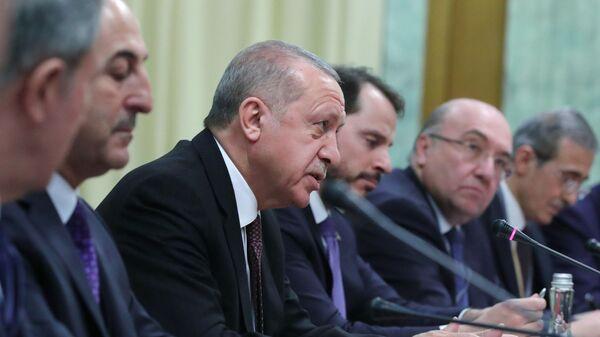 Президент Турецкой Республики Реджеп Тайип Эрдоган