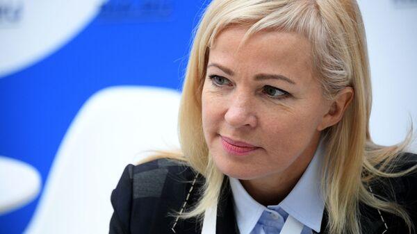 Заместитель председателя Внешэкономбанка Ирина Макиева на Российском инвестиционном форуме в Сочи