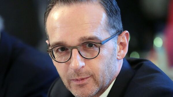 Министр иностранных дел ФРГ Хайко Маас