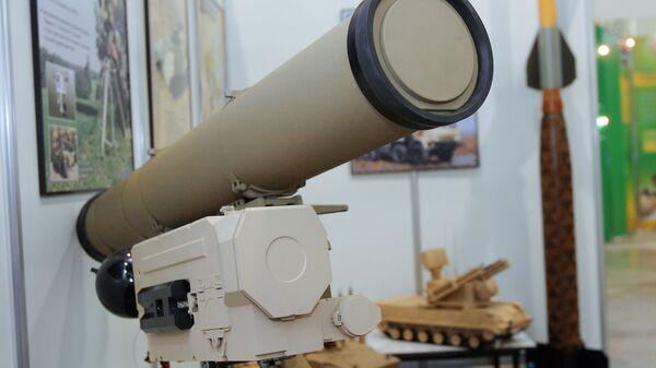 Корнет-Э - возимо-переносной противотанковый ракетный комплекс третьего поколения