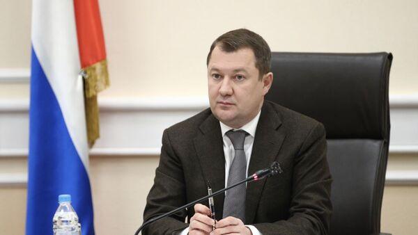 Заместитель министра строительства и ЖКХ России Максим Егоров