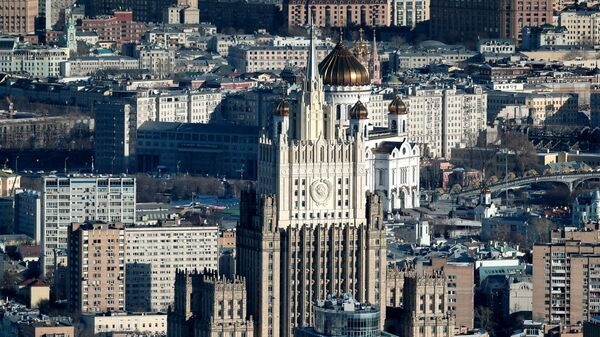 Вид на здание Министерства иностранных дел