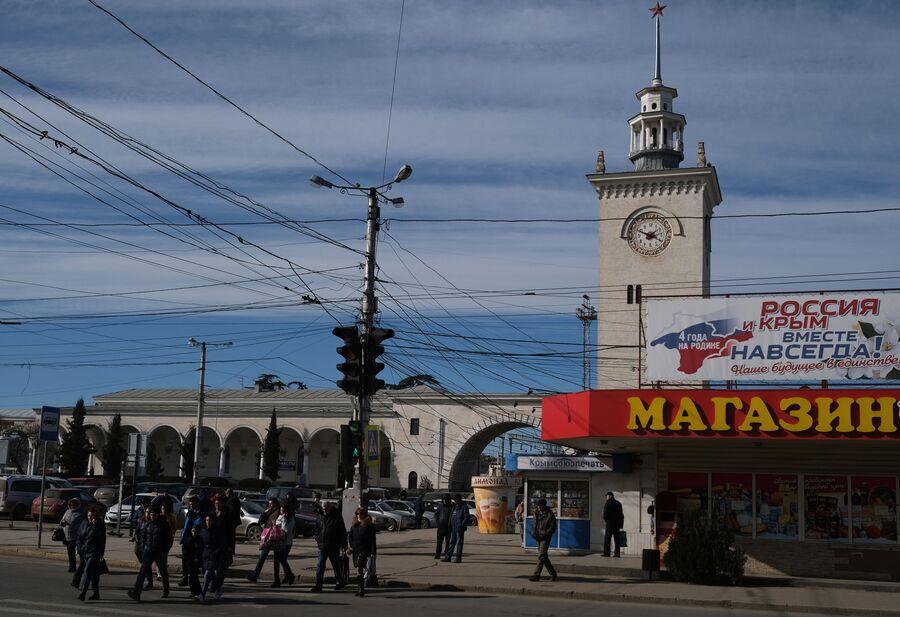 Вокзал в Симферополе