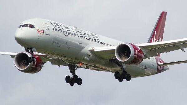 Самолет авиакомпании Virgin Atlantic