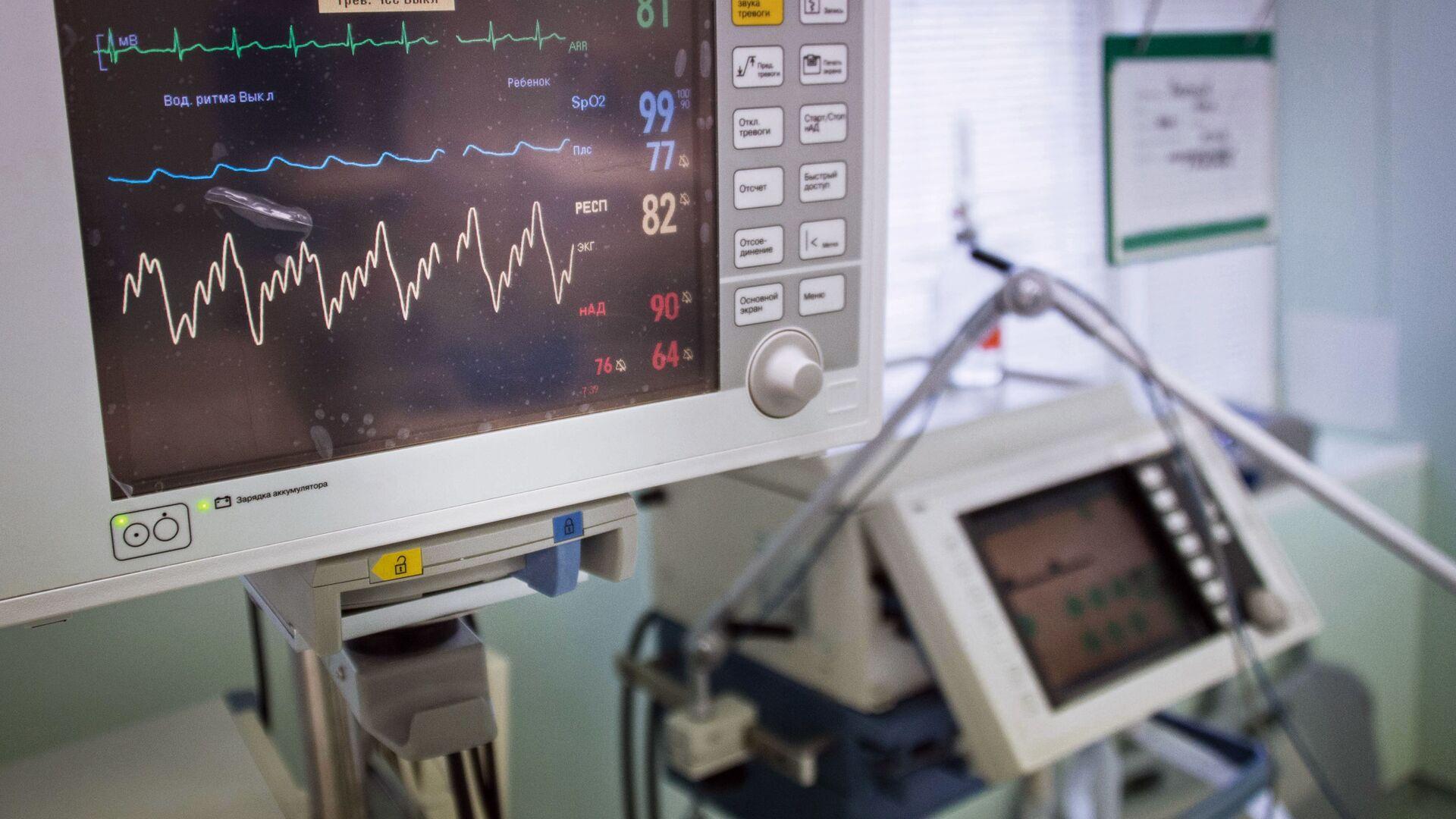 Диагностический медицинский прибор в одной из больниц Москвы - РИА Новости, 1920, 21.04.2020