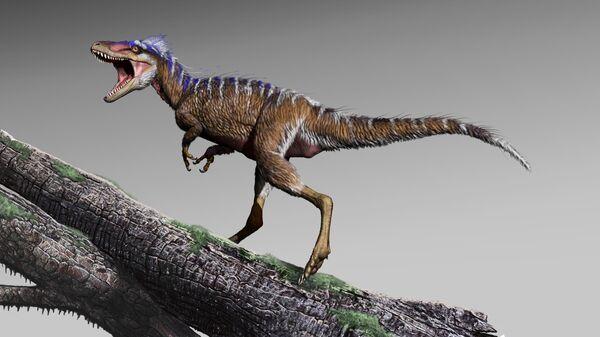 Так художник представил себе Moros intrepidus, самого небольшого тираннозавра Нового Света