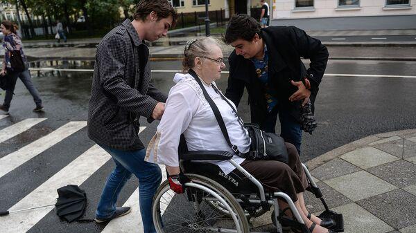 В Волгоградской области волонтеры помогут инвалидам