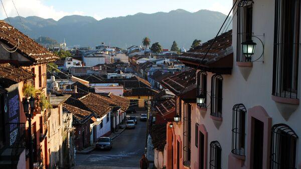 Мексика. Город в штате Чьяпас
