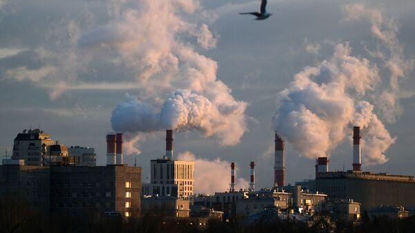 Теплоэлектроцентраль на Канатчиковом проезде в Москве