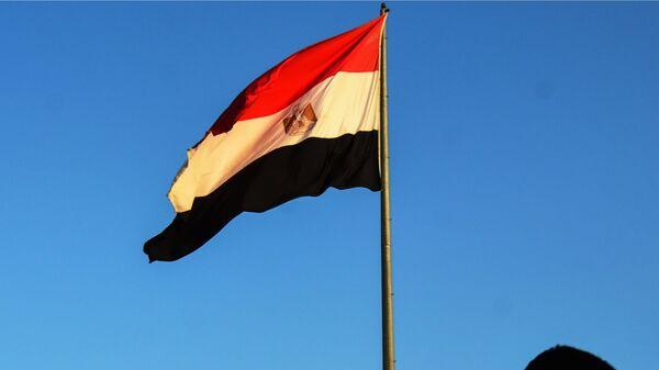 Государственный флаг Арабской Республики Египет