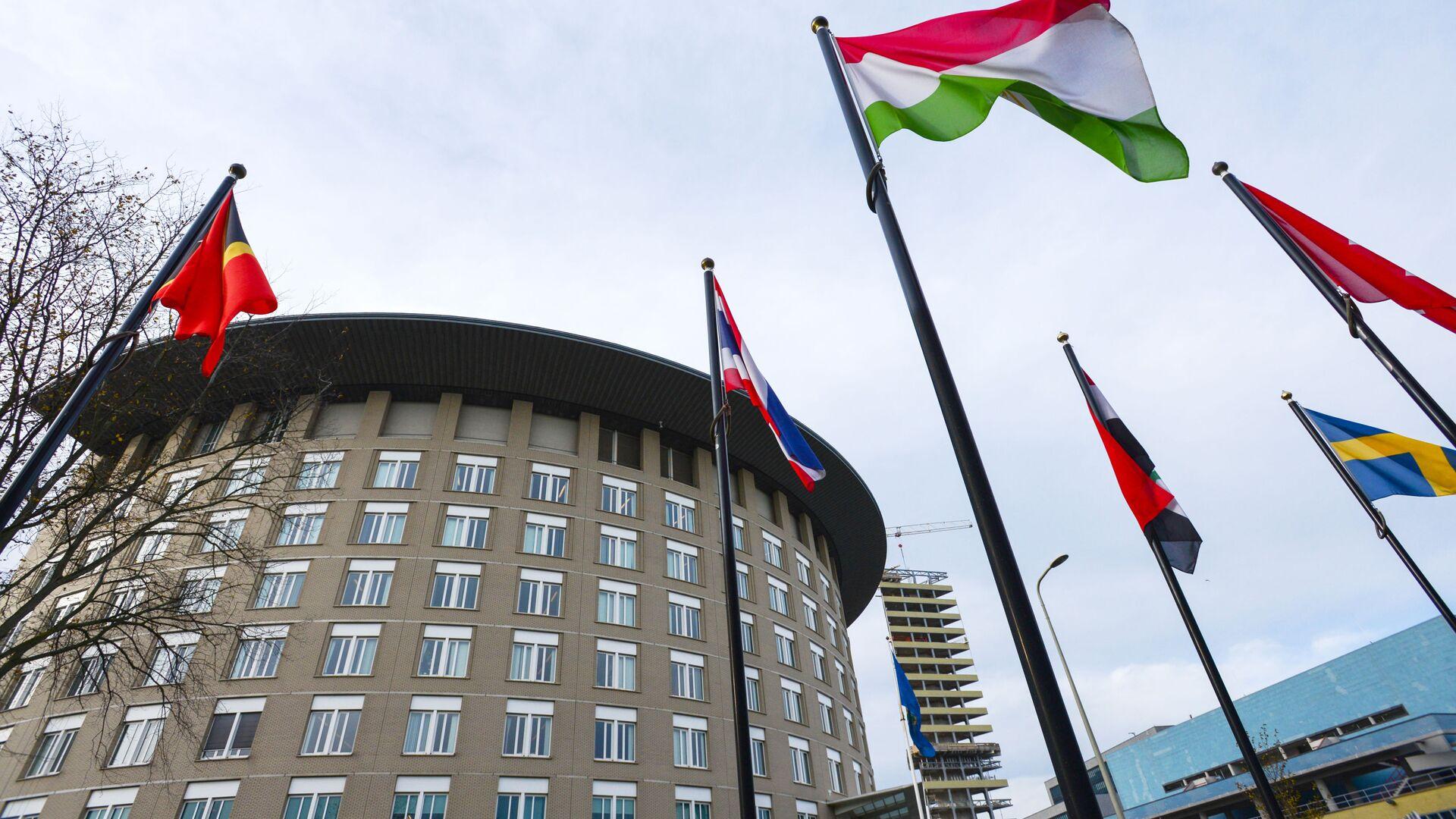 Вид на здание Организации по запрещению химического оружия в Гааге - РИА Новости, 1920, 04.09.2020