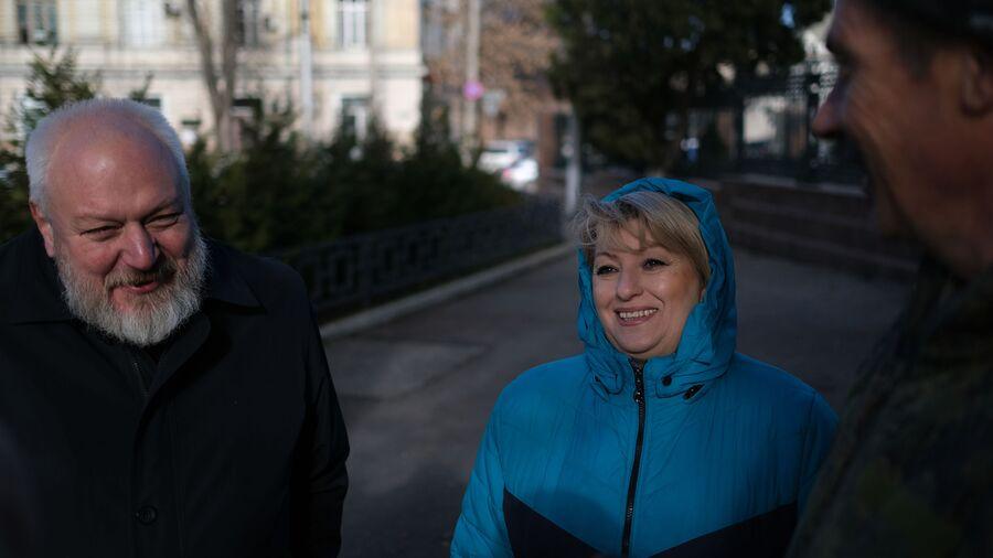 Татьяна Савицкая, Андрей Никифоров и Сергей Звездов