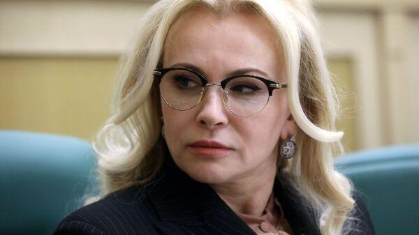 Сенатор, член комитета Совета Федерации РФ по обороне и безопасности Ольга Ковитиди