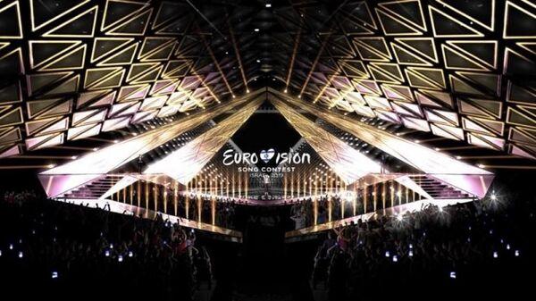 Дизайн сцены, на которой будет проходить финал песенного конкурса Евровидение-2019