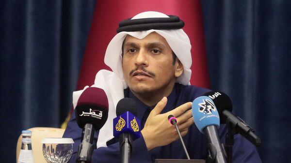 Министр иностранных дел Катара Мухаммед Бен Абдель Рахман Бен Джасем Аль Тани