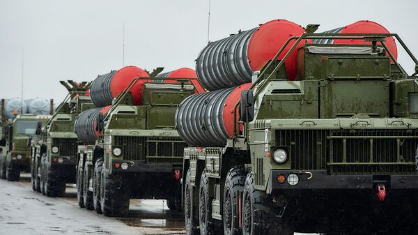 Зенитно-ракетные комплексы Триумф С-400