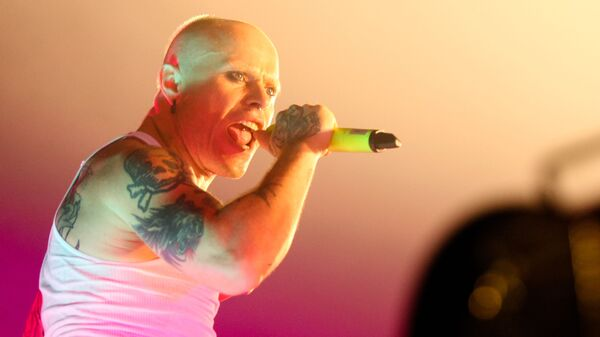 Участник группы The Prodigy, танцор, вокалист Кит Флинт. Архивное фото