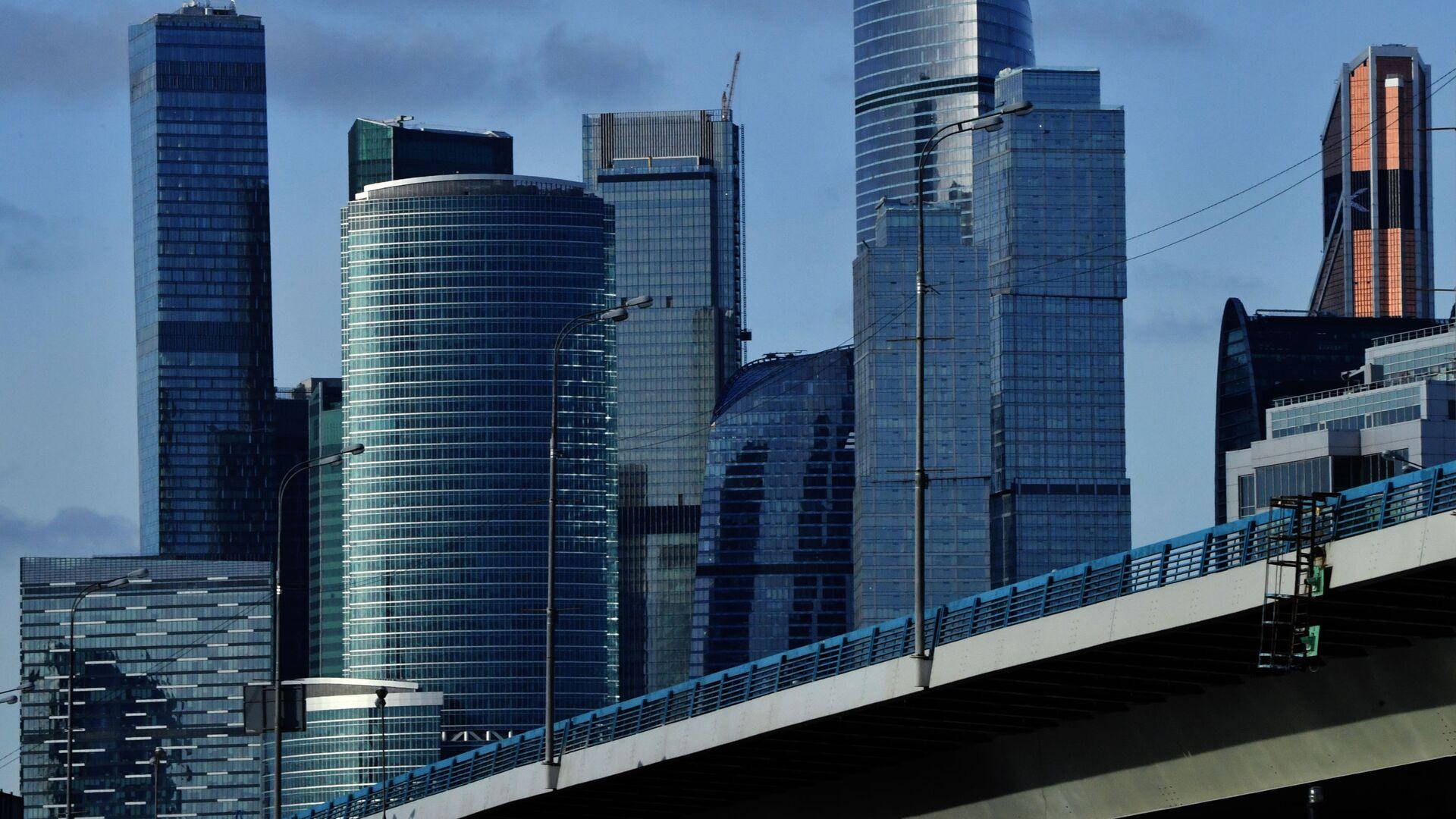 Небоскребы делового центра Москва-сити - РИА Новости, 1920, 14.07.2021