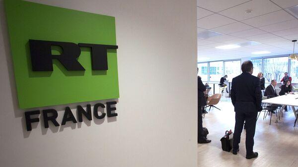 Офис телеканала RT France в Париже