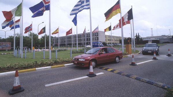 Здание штаб-квартиры НАТО, Брюсселе, 1997 год