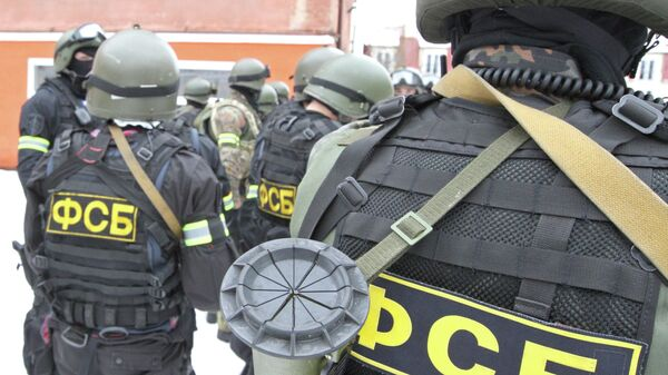 Сотрудники российских спецслужб