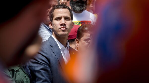 Лидер оппозиции Хуан Гуаидо